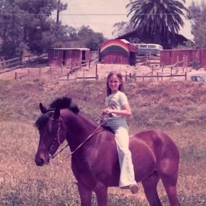 On my pony, Gent