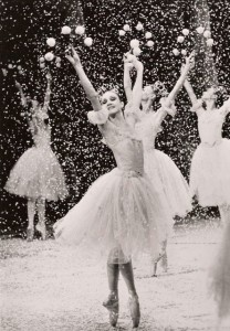 Snowflake in Balanchine's Nutcracker