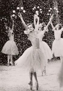 Snowflake in Balanchine's Nutcracker