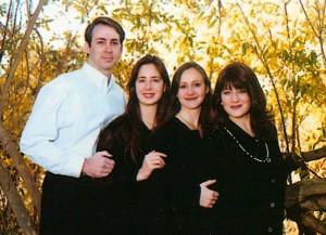 My siblings and I, Gary, Romy, and Michele