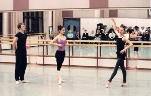 Coaching at the Royal Birmingham Ballet